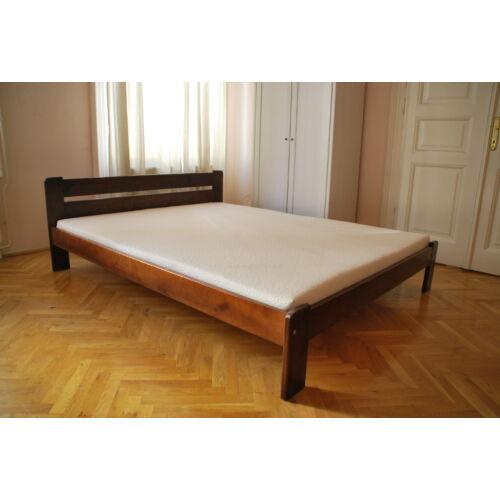 Komplett ágy, Relax, mogyoró színben, Bázis matraccal. 140X200