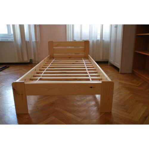 Komplett ágy, Relax, fenyő színben, Bázis matraccal. 90X200-as.